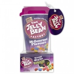 The Jelly Bean Factory 36 Gourmet Flavours Travel Mug Set