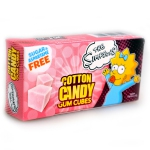 The Simpsons Cotton Candy Gum Cubes zuckerfrei