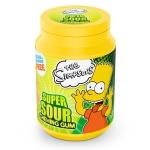 The Simpsons Super Sour Chewing Gum zuckerfrei