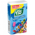 tic tac around the world 49g