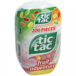 tic tac fruit adventure 98g