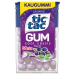 tic tac Gum cool cassis