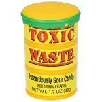 Toxic Waste Hazardously Sour Candy Drum