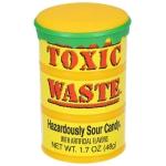 Toxic Waste Hazardously Sour Candy Drum