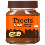 Treets Choco Peanut Butter 340g