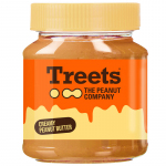 Treets Creamy Peanut Butter 340g