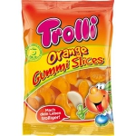 Trolli Orange Gummi Slices Halal