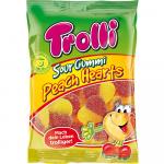 Trolli Sour Gummi Peach Hearts 175g
