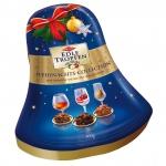 """Trumpf Edle Tropfen in Nuss Weihnachts-Collection """"Glocke"""" 300g"""