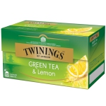 Twinings Green Tea & Lemon 25 Teebeutel