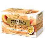 Twinings Infusions Peach & Passionfruit 25 Teebeutel