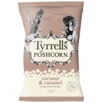Tyrrells Poshcorn Coconut & Caramel
