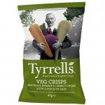 Tyrrells Veg Crisps Green 40g