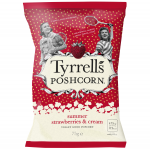 Tyrrells Poshcorn Summer Strawberries & Cream