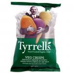 Tyrrells Veg Crisps Green 100g