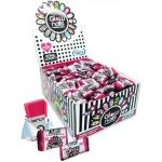 Vidal Glow Nails Bubble Gum & Fashion Stickers 200er