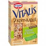 Vitalis 7 Korn-Müsli Nüsse & Kerne