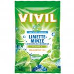 Vivil Erfrischungsbonbons Limette-Minze zuckerfrei 120g