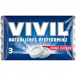 Vivil Pfefferminz zuckerfrei 3er Multipack