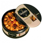 Walkers Glenfiddich Highland Whisky Cake Tin 800g