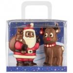 Weibler Weihnachtsmann und Rentier 150g