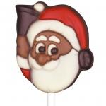 """Weibler Schoko-Lolli """"Weihnachtsmann mit Glocke"""" 15g"""