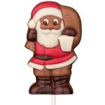 """Weibler Schoko-Lolli """"Weihnachtsmann mit Laterne"""" 35g"""