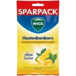 Wick Hustenbonbons Zitrone & natürliches Menthol zuckerfrei