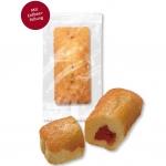 Wilhelm Gruyters Gefüllte Mini-Kuchen Erdbeere Einzelpackung 120er Catering-Karton