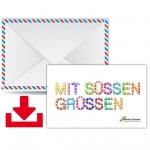 worldofsweets.de Geschenkgutschein (50 €) zum Selbstdrucken (PDF)