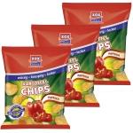 XOX Kartoffel-Chips Paprika 24x30g Sparpack