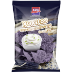 XOXitos Tortillachips Bluecorn & Sourcream