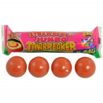 ZED Candy Jumbo Jawbreaker Strawberry 4 Ball