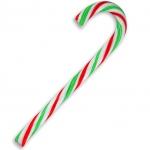 Zuckerstange rot/grün/weiß 13cm