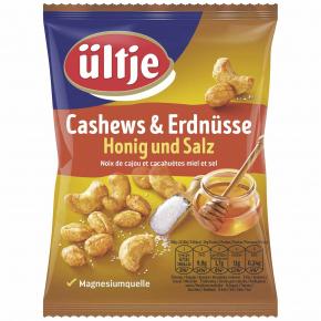 ültje Cashews & Erdnüsse Honig und Salz 200g