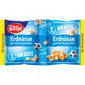 ültje Erdnüsse geröstet & gesalzen - WM-Edition