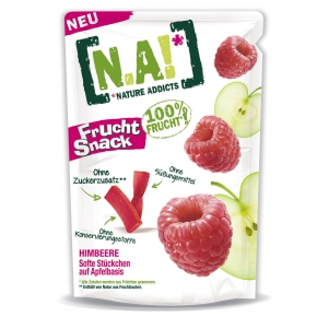 [N.A!] Nature Addicts Frucht Snack Himbeere