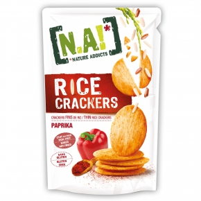 Nature Addicts Rice Crackers Paprika 70g