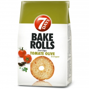 7Days Bake Rolls Tomate Olive & Oregano 250g
