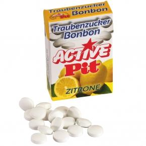 Active Pit Traubenzucker-Bonbon Zitrone 35g