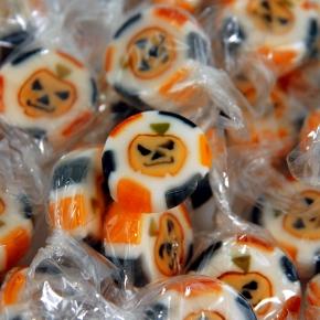 """Amore Sweets Rock Bonbons """"Kürbis"""" 1kg"""
