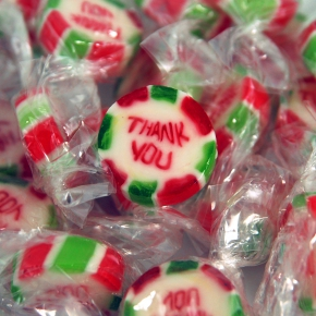 Amore Sweets Rocks Bonbons Thank You 1kg
