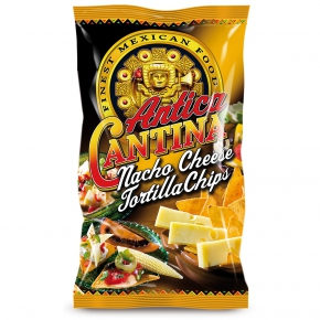 Antica Cantina Tortilla Chips Nacho Cheese 200g