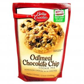 Betty Crocker Cookie Mix Oatmeal Chocolate Chip 496g