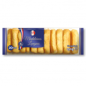Biscuiterie Charlotte Madeleines Longues 250g