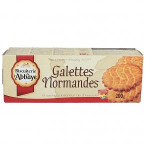 Biscuiterie de l'Abbaye Galettes Normandes 200g