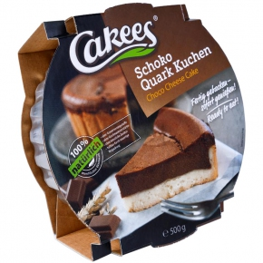 Cakees Schoko Quark Kuchen 500g