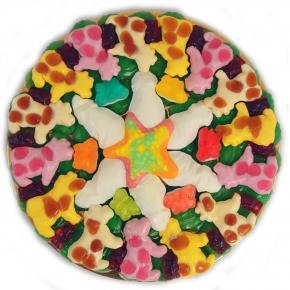 """Canderia Süße Pizza """"Bunte Tierwelt"""""""