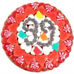"Canderia Süße Pizza ""Happy Birthday"""