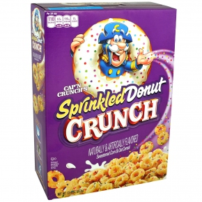 Cap'n Crunch's Sprinkled Donut Crunch 353g